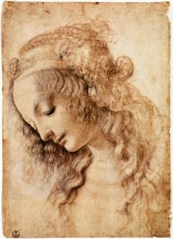 womans-head-leonardo-da-vinci