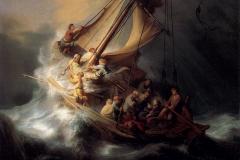 Sea Galilee, Rembrandt