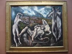 Laocoön, El Greco