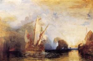 William Turner, Ulysses deriding polyphemus 2
